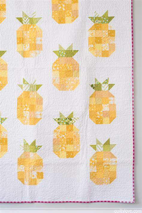 Pineapple Quilt Template by The Pineapple Quilt Quilty