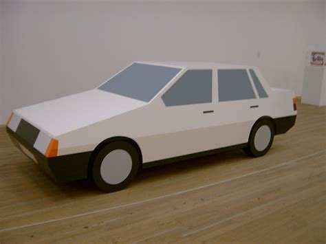 How To Make A Car Out Of Paper - purnell paper car