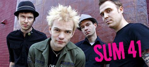 Best Band Sum 41 1440x900 Sum 41 Avril Lavigne Bandaids
