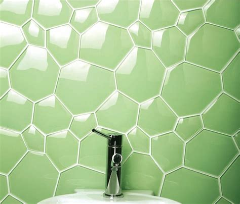 Upholstery Supplies Sydney Feature Bathroom Wall Tile In Lime Green