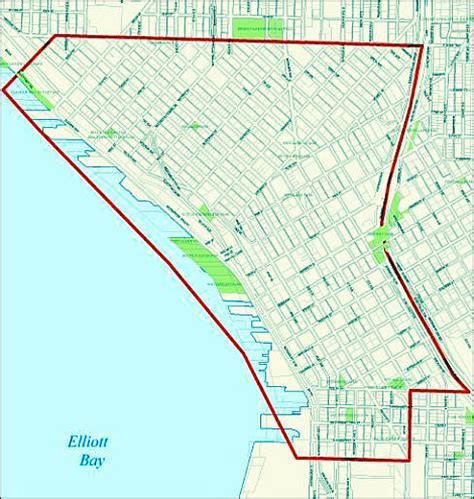 seattle map pioneer square dumpsters banned to clean up crime seattle s big