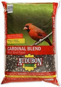 audubon park cardinal blend wild bird food 14 lb bag