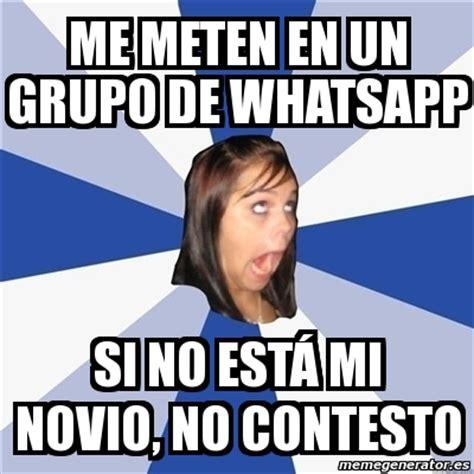 E Memes - meme annoying facebook girl me meten en un grupo de