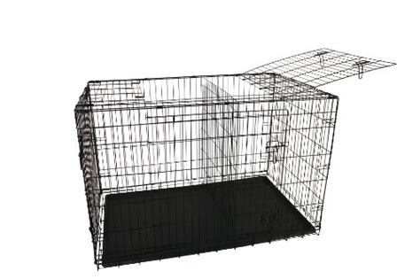 dogs with abs allmax 3 door folding metal crate with abs tray and divider medium black 0 0 k9