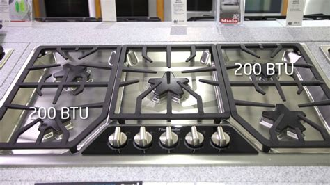 Wolf Gas Cooktops Thermador 36 Inch Gas Range Top Sgsx365fss Features