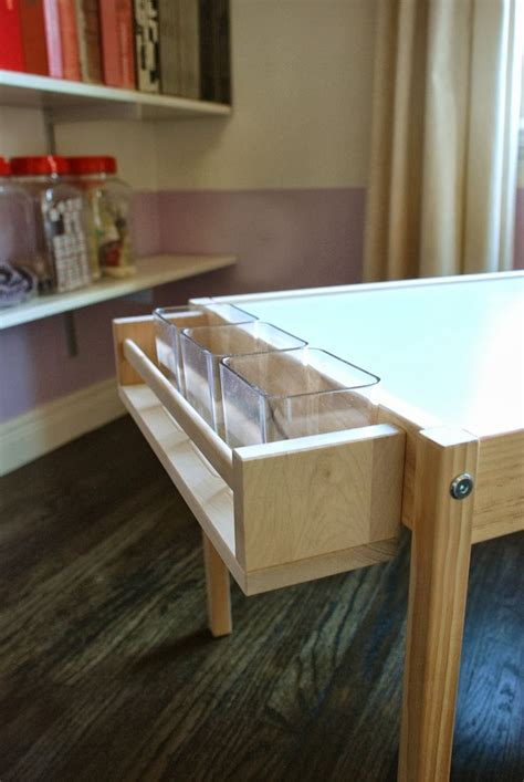 ikea craft table 25 best ideas about craft tables on
