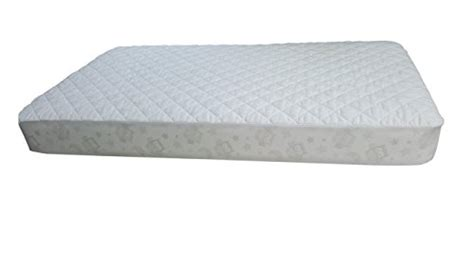 Vinyl Crib Mattress Cover Waterproof Crib Mattress Pad Fitted Soft Quilted No Vinyl Fits All Standard Size
