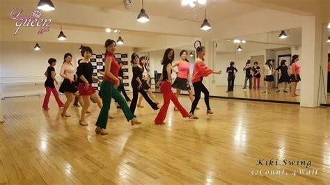 swing line dance kiki swing line dance youtube