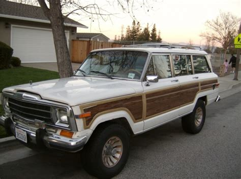Jeep Grand 1970 Vortec Powered 1988 Jeep Grand Wagoneer Bring A Trailer
