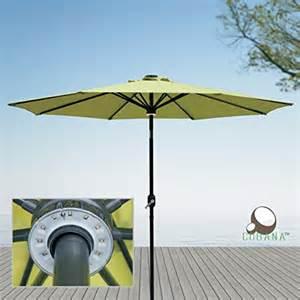 12 Ft Patio Umbrella Cobana 9 Ft Solar Powered Led Lighted Alluminum Patio Umbrella Outdoor Umbrella Market Umbrella