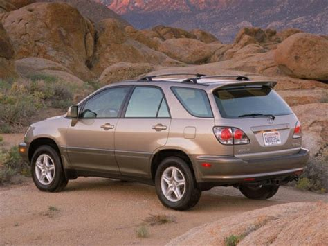 lexus rx 2002 2002 lexus rx photos informations articles bestcarmag com