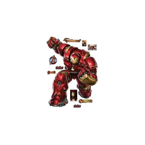 Poster Buster 30x40cm stickers iron hulkbuster 30x40cm 15015