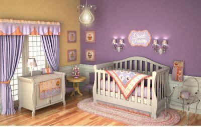cute cupcake baby nursery theme bedding decorating ideas