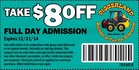 discount vouchers diggerland philadelphia coupon blog mid mo wheels and deals