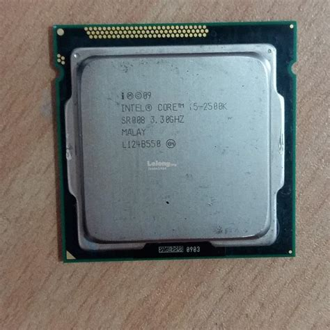 Intel I5 2500k Sockel by Intel I5 2500k 3 3ghz Socket Lga 1155 Process End 12 7 2016 11 26 00 Pm