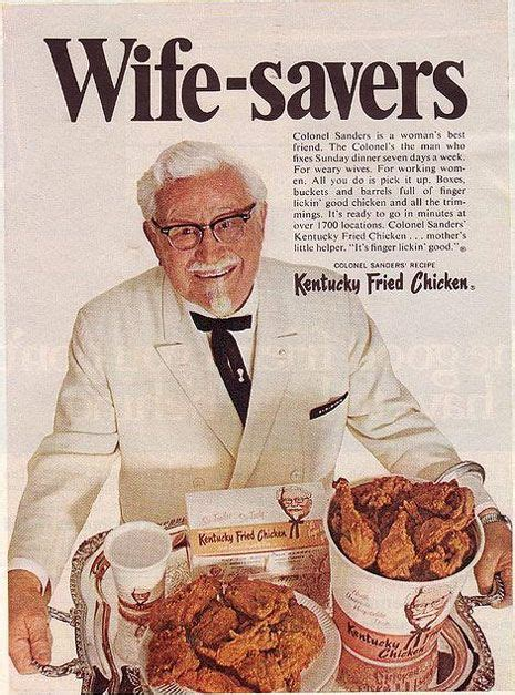 actors in kentucky fried chicken commercials wife savers kfc ad 1968 not so great moments in