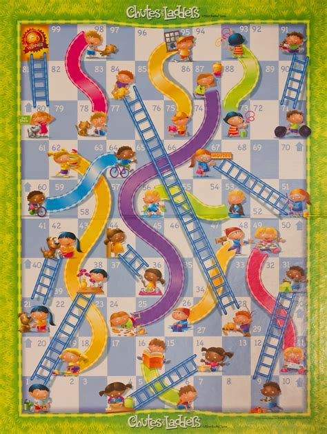 chutes and ladders normal is out there