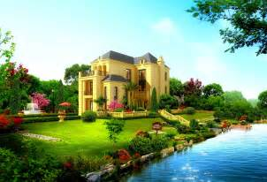 cool beautiful house design hd wallpaper dreamlovewallpapers