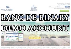 banc de binary demo broker with demo banc de binary x binary options