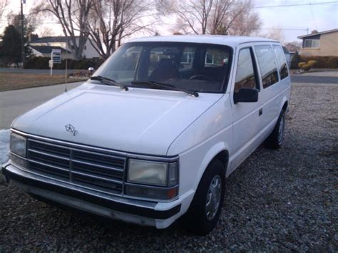 turbo dodge caravan 1990 dodge caravan turbo manual trans rebuilt 2500