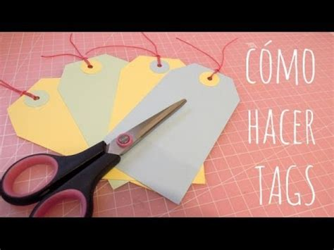 tutorial tags scrapbook como hacer tags muy f 193 cil tutorial de scrapbooking youtube