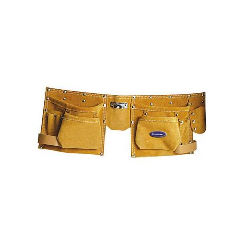 leather pocket tool pouch belt 8 pockets toolstation