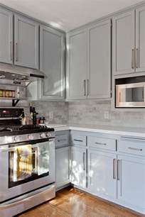 gray kitchen with white cabinets gray shaker kitchen cabinets with engineered white quartz