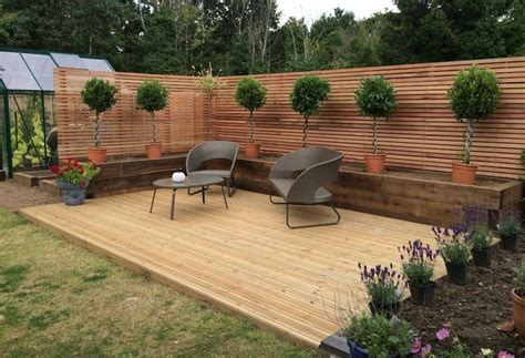 Deck Gardens by How To Make The Most Of Your Gardens Decking