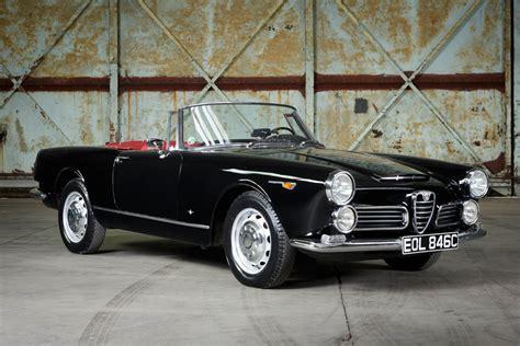 Alfa Romeo 2600 For Sale by 1964 Alfa Romeo 2600 Spider 187 Pendine Historic Cars
