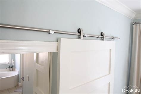diy sliding bathroom door how to install barn door for bathroom bathroom design ideas