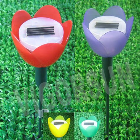 tulip solar lights solar power tulip light china solar tulip light solar