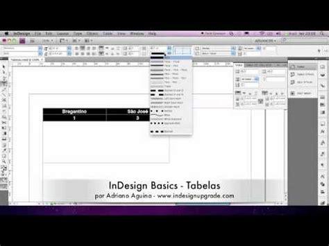tutorial indesign youtube indesign basics tutorial 6 tabelas youtube