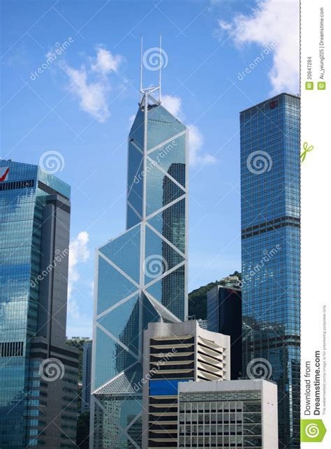 bank of china hong kong login bank of china commercial buildings in hong kong editorial