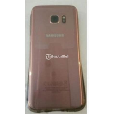 Handphone Samsung S7 Second handphone canggih samsung s7 edge pink rosegold limited