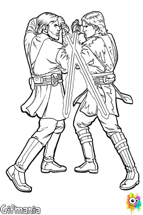 free coloring pages of anakin starwars