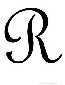 printable cursive letter r print letter r in cursive writing