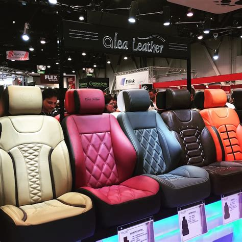 Leather Auto Upholstery - report back 2016 sema show day 2 the hog ring