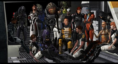 mass effect design team mass effect 2 team pose by cor angars on deviantart