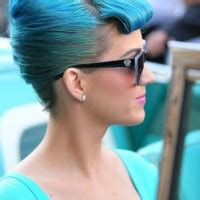 rihanna french twist updo hairstyle with wispy bangs rihanna french twist updo hairstyle with wispy bangs