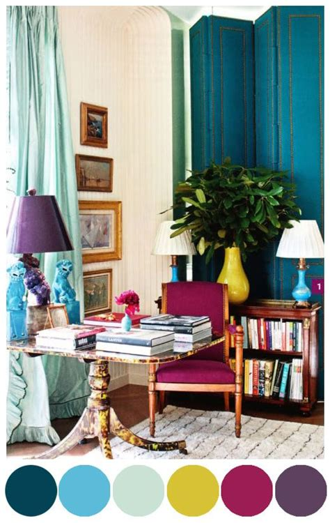 jewel tone living room design inspo every color room palette why not jewel