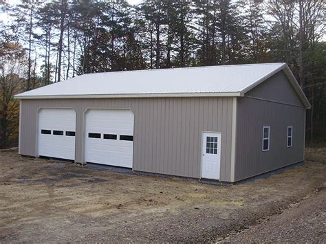 40 X 40 Shed by Open Front Pole Buildings Images