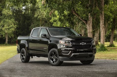 2016 chevrolet colorado midnight edition gm authority
