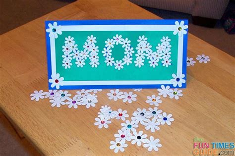 mothers day card to make how to make a mothers day card of flowers the