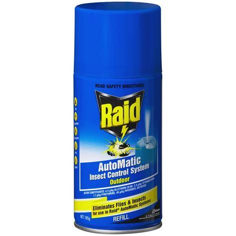 raid automatic outdoor inscet refill bunnings warehouse