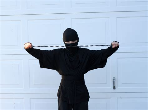 ninja costume pattern for adults burkas for burly assassins better than bullets