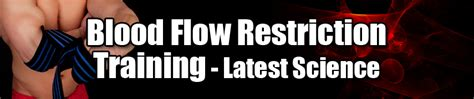 blood flow restriction training latest science