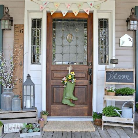 spring decorating ideas for your front door porches front porches and the oaks on pinterest