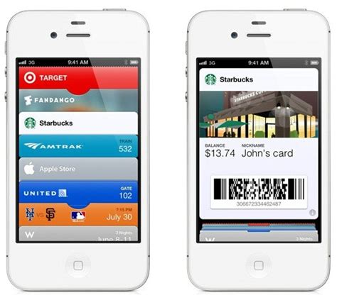 Apple Passbook Gift Card - iphone passbook barcodes scanner app get yours today