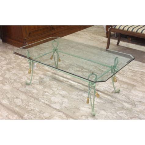 ladari in ferro battuto e vetro tavolino ferro battuto e vetro