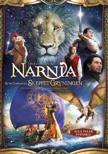 film narnia episode 3 narnia 3 caspian och skeppet gryningen dvd discshop se
